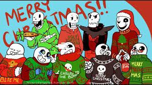 christmas party au movie undertale comic dub youtube