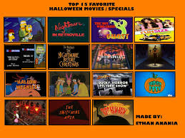 my top 15 favorite halloween movies specials by toongirl18 on