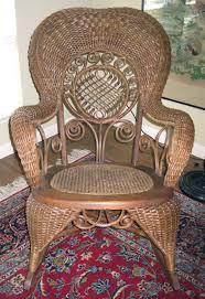 Ebay Wicker Patio Furniture - large ornate antique heywood wakefield victorian edwardian wicker
