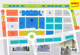 mall of asia floor plan shore 2 residences smdc condo