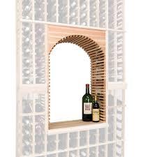 napa vintner stackable wine rack archway u0026 table top insert