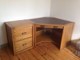 Corner Desk With Drawers by Halo Montana Corner Desk With Filing Drawers In Telford