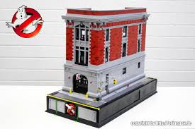 lego ghostbusters headquarters by orion pax the brick fan