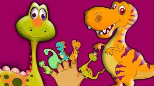 finger family dinosaurs song for children preschoolers nursery