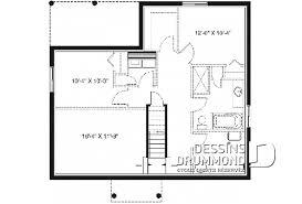 plan maison 3 chambres plain pied modèle de plain pied trois 3 chambres plans dessins drummond
