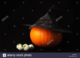 making a witches halloween lantern pumpkin witches hat