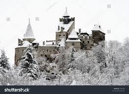 Dracula S Castle Draculas Castle Winter Season Stock Photo 744799 Shutterstock
