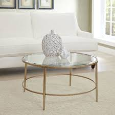 West Elm Etched Granite Coffee Table Glass Coffee Tables You U0027ll Love Wayfair