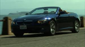 bmw 6 series convertible review 2009 bmw 650i convertible review roadshow