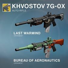 destiny rise of iron s weapon ornament customizations are here