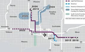 valley metro light rail schedule phoenix studies southern route for expanding light rail arizona
