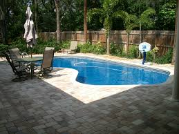 Pool And Patio Decor Swimming Pool Garden Landscaping Ideas Pool Design With Brick