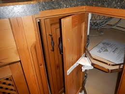 another option for the lazy susan cabinet kitchens by diane