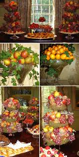 Table Buffet Decorations by Wedding Table Decorations Using Apples Mom U0027s Fruit U0026 Nut
