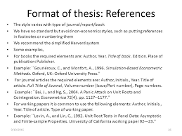 thesis general remarks ppt download