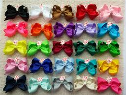 diy baby hair bows 10 set of 20 pcs 6 inch hair bows for baby