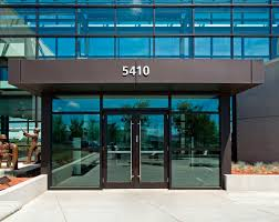 glass door for business commercial entrance doors glass