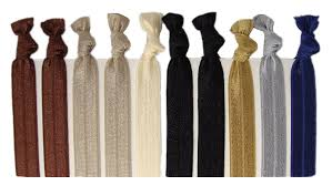 ribbon hair ties ribbon hair ties neutral tones 10 pack by kenz