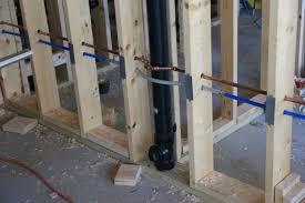 Water Under Bathroom Floor Rough In Plumbing Done Design U0026 Construction Of Spartan
