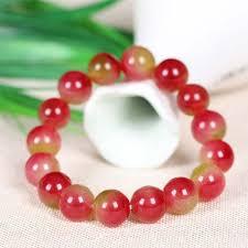bracelet quartz images Watermelon tourmaline beaded bracelet quartz strand bracelet jpg