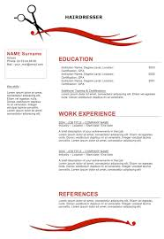 sle resumes for hairstylist cosmetologist hairdresser resume