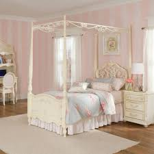 Pink Canopy Bed Bedrooms Teen Girl Bedroom Jessica Mcclintock Canopy Bed Light