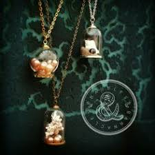 this is so bronze diy glass terrarium pickapearl necklace