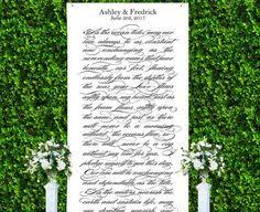 wedding backdrop sign wedding backdrop decoration or photo booth personalized banner