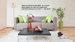 design quotes by designer of custom lamp shadeselle daniel