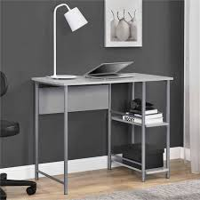 Walmart Mainstays Computer Desk Mainstays Basic Metal Student Desk Multiple Colors Walmart Com