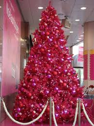 pink christmas tree 50 pink christmas trees heavens to betsy bright christmas