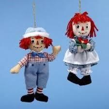 raggedy andy sweet valentines dolls by danbury mint