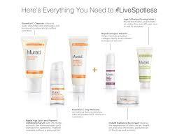 Murad Resurgence Skin Care Rapid Lightening Regimen Heather Murad