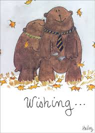 loving bears thanksgiving card by recycled paper greetings