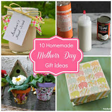 Mother S Day Gifts Homemade by Round Up Monday 10 Homemade Mother U0027s Day Gift Ideas Fun Home Things