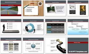 powerpoint business roadmap template