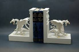 12 unique bookends to give your bookshelf some extra personality