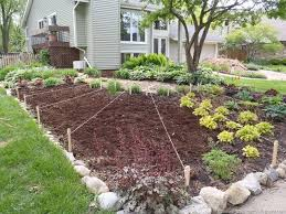 Vegetable Garden Landscaping Ideas Front Yard Vegetable Garden One Month Update Front Yards