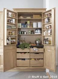 Kitchen Larder Cabinet | smarten up your kitchen storage with a fancy pantry storage