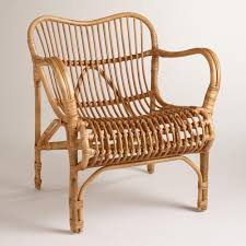 Wicker Living Room Chairs by Rattan Cole Chair Rattan Small Cushions And Porch