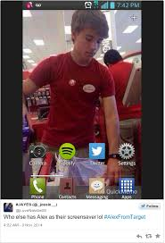 the internet turned this photo of a young target employee into a