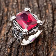 gothic ruby rings images Ruby claw gothic ring jpg