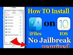 how to install ifile on ios 11 without jailbreak no computer