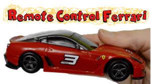 barbie ferrari bburago rc ferrari 599xx race and play with kid friendly toys