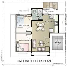 house design plans 50 square meter lot 120 square meter house plan and design home pattern
