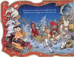 reindeer jan brett pencil and in color reindeer jan