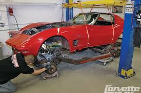 c3 corvette suspension upgrade corvette frame how to reframe your c2 c3 corvette