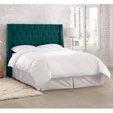 blue beds u0026 headboards bedroom furniture the home depot
