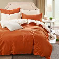 online shop cotton plain simple bedding sets 4pcs fashion larry
