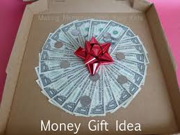 money cake designs money gift idea can t live on pizza alone memories with
